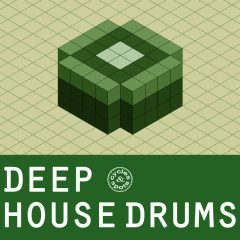 Deep House Drums <br><br>&#8211; 300 Drum One Shots (50 Kicks, 50 Claps, 50 Snares, 50 Hihats, 50 Snares, 50 Percs, 24 Bit Wavs.