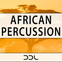 African Percussion <br><br>&#8211; 350 Wav Loops (50 Percussion Ensembles, 300 Individual Percussion Drums, 700 MB, 24 Bit Wavs.
