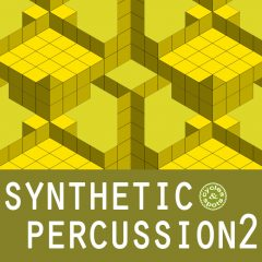 Synthetic Percussion 2 <br><br>&#8211; 300 Unusal Percussion Loops, 341 MB, 24 Bit Wavs.
