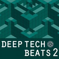 Deep Tech Beats 2 <br><br>&#8211; 200 Loops (100 Beat Loops, 100 No-Kick Equivalents), 282 MB, 24 Bit Wavs.
