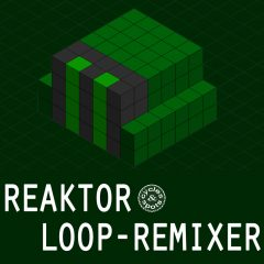 Reaktor Loop Remixer <br><br>&#8211; 1 NI Reaktor Ensemble (Full Version 6.1 &#038; Higher), 50 Snapshots (Presets), 100 Loops Included (Importing New Ones Possible), 307 MB.