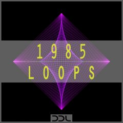 1985 Loops <br><br>&#8211; 225 Wav &#038; MIDI Loops (80 Beat Layer Loops (Kicks, Hihats, Snares), 22 Melody Loops, 21 Chord Loops, 20 Bass Loops, 62 MIDI Files, 419 MB, 24 Bit Wavs.