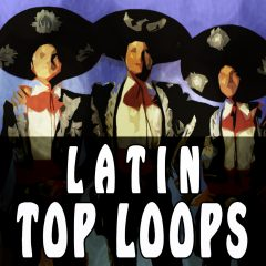 Latin Top Loops Vol.3 <br><br>&#8211; 300 Loops (Claves, Cabasa, Maracas and Tambourines), 75-150BPM, 2-4 Bars, 390 MB, 24 Bit Wavs.