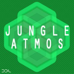 Jungle Atmos <br><br>&#8211; 10 Construction Kits (103 Wav Loops-Including Longer Field Recordings of Birds, Waves, Crickets, Ocean, Rain, Thunder) &#038; MIDI Files), 780 MB, 24 Bit Wavs.