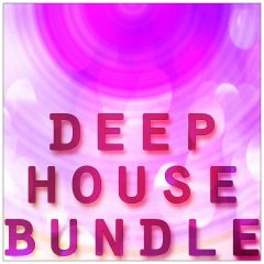 Deep House Bundle <br><br>&#8211; 5 Full Packs 50% Off &#8211; Regular 70.45 € (Deep Tools, Deep Jewels, Deep Chords 2, House Basslines, Multi Perc), 2 GB, 24 Bit Wavs.