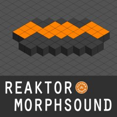 Reaktor MorphSound <br><br>– 1 NI Reaktor Instrument (Full Version 6.1 & Higher Needed), 100 Presets (Atmo, Bass, Chord, FX, Lead), 379 MB.