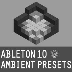 Ableton 10 Ambient Presets <br><br>&#8211; 65 Presets (Instrument Racks) For Ableton Live 10.0.1 &#038; Higher, 10 Arpeggios, 8 Bass, 9 For Chords, 9 Effects, 12 Pads, 9 Sequences, 7 Universal.