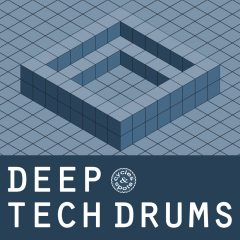 Deep Tech Drums <br><br>&#8211; 300 One Shots (50 Kick, 50 Clap, 50 Snare, 50 Open Hihat, 50 Close Hihat, 50 Perc, 168 MB, 24 Bit Wavs.
