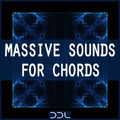 Massive Sounds For Chords <br><br>&#8211; 70 Presets For NI Massive (V1.5 And Higher), 10 MB.