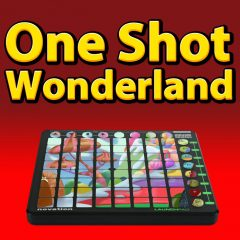 One Shot Wonderland <br><br>&#8211; 1 Novation Launchpad Arpeggiator Patch For Ableton Live(8.2 And Higher) Plus 329 One Shots(198 Sounds,  Claps, 14 Hihats, 17 Kicks, 21 Percussion Shots, 17 Snares, 11 Basses, 8 Chords, 13 Effect Sounds, 11 Pads, 7 Synths), 388 MB, 24 Bit Wavs.