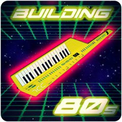 Building 80s <br><br>&#8211; 535 Loops (225 Harmonic Loops, 260 Drum Loops, 5 Wide Themes), 1-8 Bars, 225 MIDI Files, 1,32 GB, 100-158BPM, 24 Bit Wavs.
