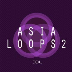 Asia Loops 2 <br><br>&#8211; 302 Wav Loops (36 Instruments, 3 Gamelan Sets- 90, 94, 98 BPM), 788 MB, 24 Bit Wavs.