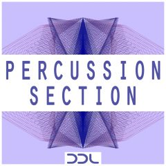 Percussion Section <br><br>– 236 Percussion Loops (Ensemble & Single: Blocks, Bongos, Congas, Boxes, Claves, Cowbells, Mixed, Rims, Shakers, Snap, Claps, Toms), 500 MB, 24 Bit Wavs.
